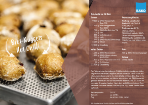 Brot-Nuggets Hot Chilli